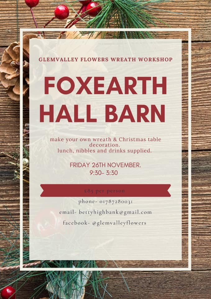 wreath making workshop tickets